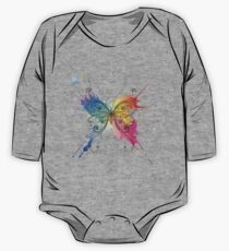 Colorful patterned butterfly One Piece - Long Sleeve