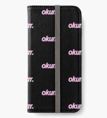 Okurr. iPhone Flip-Case/Hülle/Klebefolie