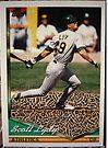 404 - Scott Lydy by Foob's Baseball Cards