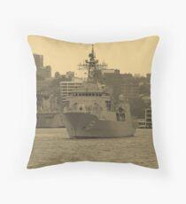 HMAS Arunta Throw Pillow
