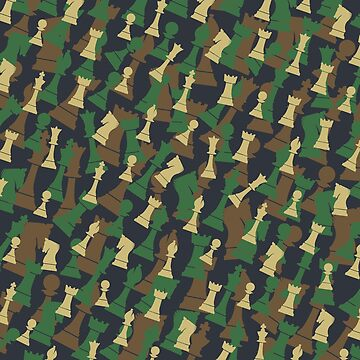 Chess Camo WOODLAND by GrandeDuc