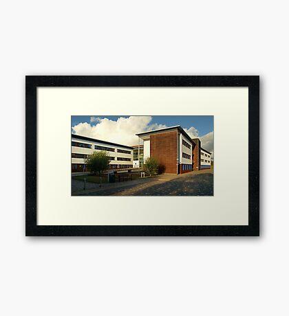 Open University - Milton Keynes,UK Framed Print