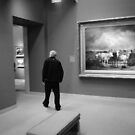 alone in an art museum  by KG12345966