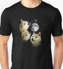 3 Doge Mond Unisex T-Shirt