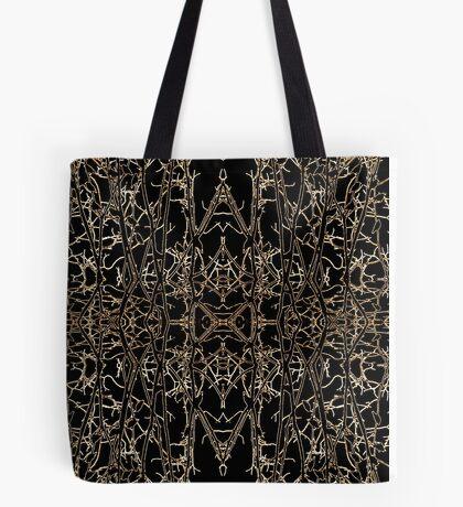 Darkly Unfolding Tote Bag