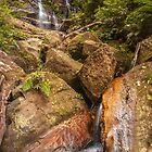 Red Rock Falls by Werner Padarin