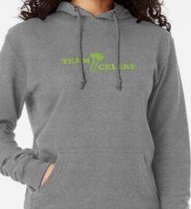 Team Celery Vegan 4 Vegetarian Juice Fan Gift Lightweight Hoodie