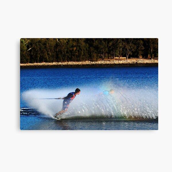 Water Skier Canvas Print