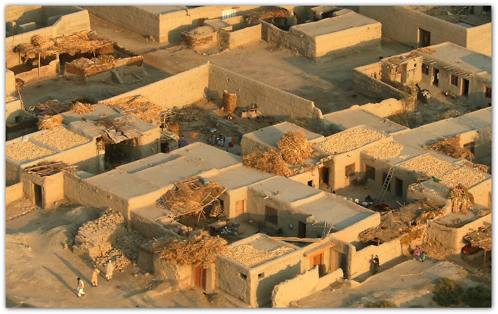 An afghan village quot by capturedjourney redbubble