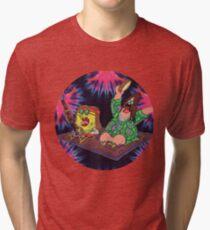 Psychedelic Sponge Tri-blend T-Shirt