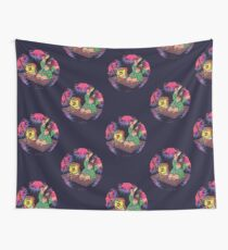 Psychedelic Sponge Wall Tapestry