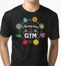 Champions Hit The Gym Tri-blend T-Shirt
