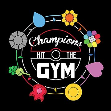 Champions Hit The Gym by kingsrock