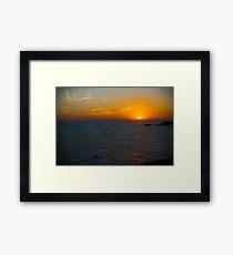 Brazil beach Framed Print