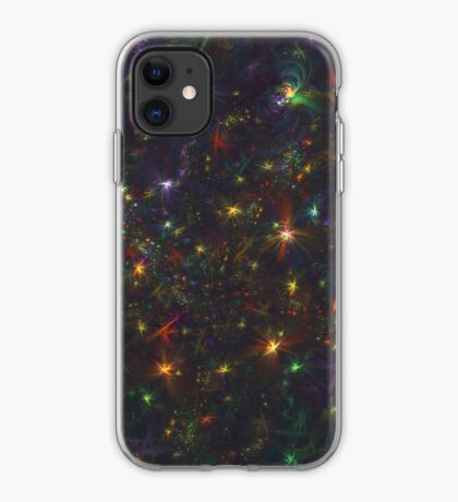 Cosmic fractals iPhone Case