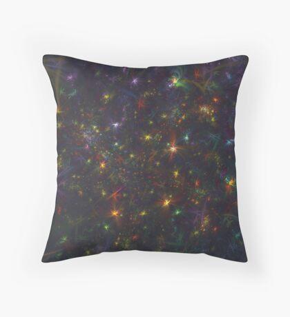Cosmic fractals Throw Pillow