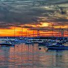 Sunset over Marina by JHRphotoART