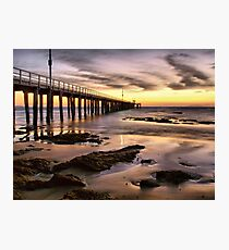 Sunrise in Point Lonsdale Photographic Print