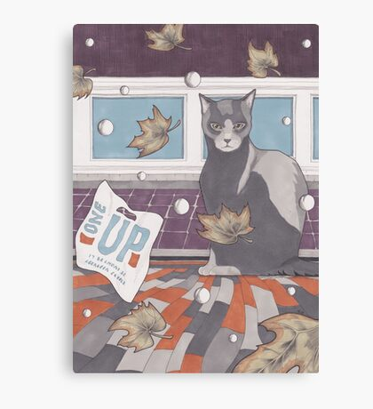 One Up Records, Aberdeen Canvas Print