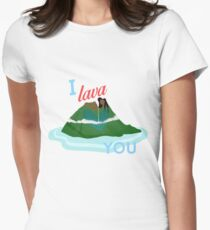 I Lava You Women's Fitted T-Shirt