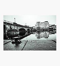 Athlone Bridge On A Wet January Morning Photographic Print