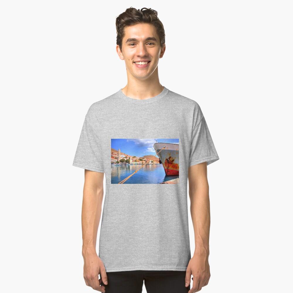 Nimborio Harbour Classic T-Shirt Front