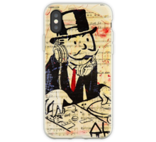 DJ Rich Uncle Pennybags iphone case
