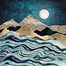 Indigo Sea by spacefrogdesign