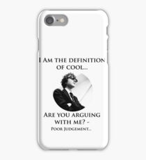 The Definition of cool iPhone Case/Skin