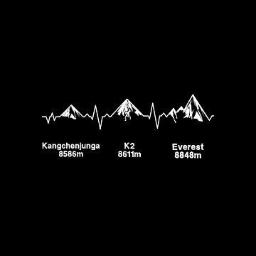 World's Highest Peaks ECG by eldram
