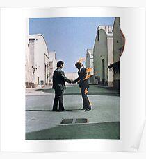 Póster Ojalá estuvieras aquí - Pink Floyd
