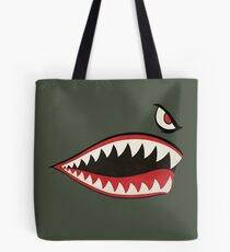 Flying Tigers Nose Art Tote Bag