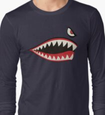 Flying Tigers Nose Art Long Sleeve T-Shirt