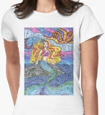Psychedelic SB Women's Fitted T-Shirt