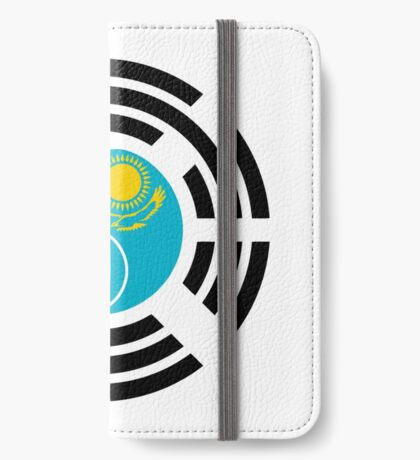 Kazakhstani Korean Multinational Patriot Flag Series iPhone Wallet