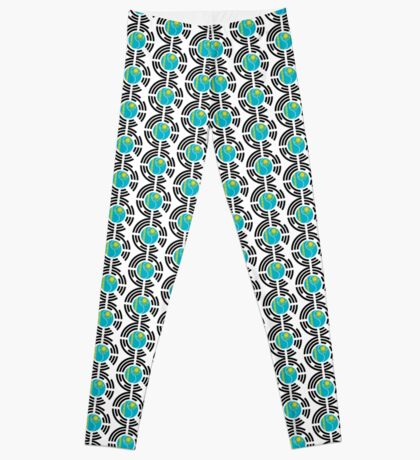 Kazakhstani Korean Multinational Patriot Flag Series Leggings
