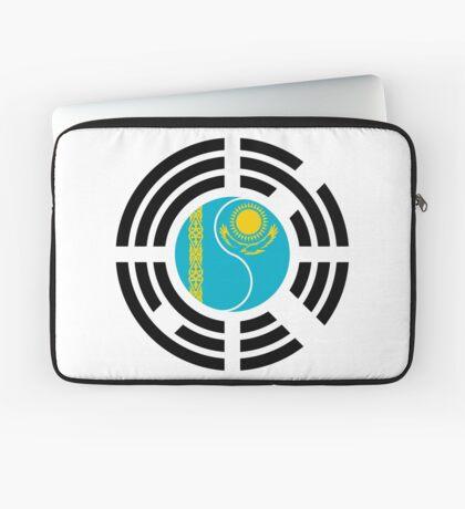 Kazakhstani Korean Multinational Patriot Flag Series Laptop Sleeve