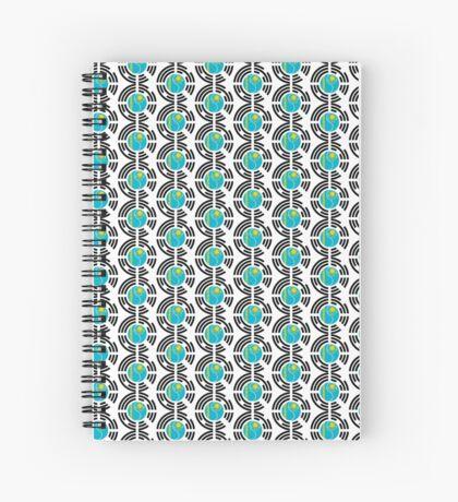 Kazakhstani Korean Multinational Patriot Flag Series Spiral Notebook
