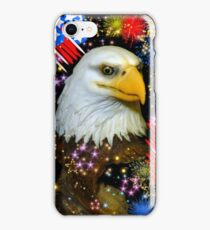 Happy 4th Of July America! iPhone Case/Skin