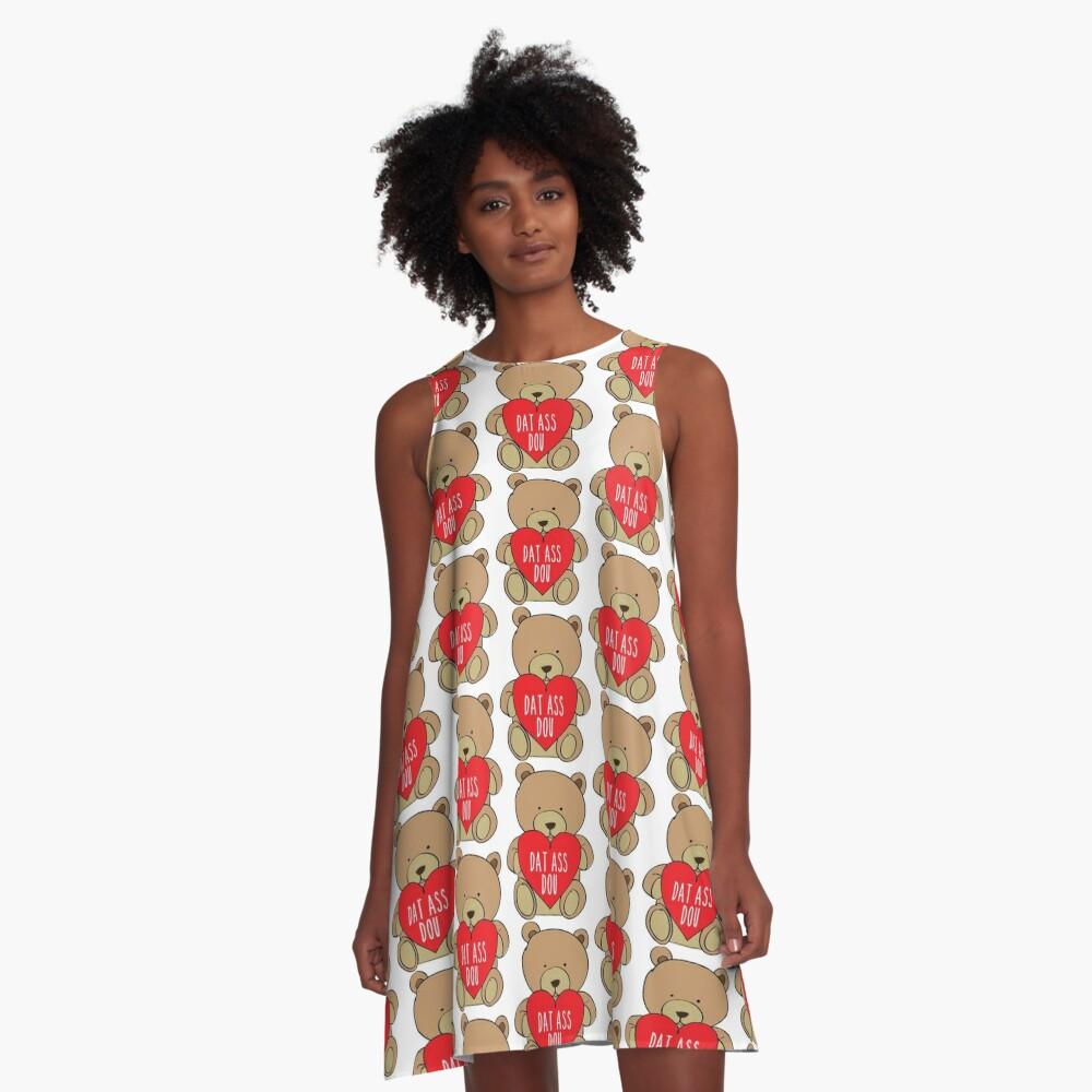 Dat Ass Dou A-Linien Kleid