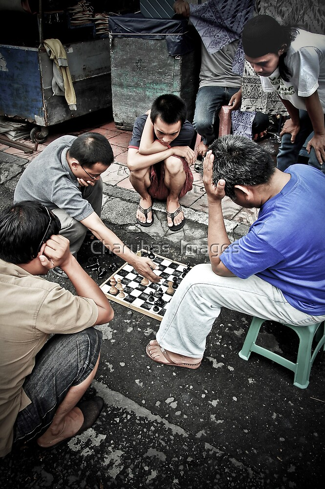 What's His Move? by Charuhas  Images