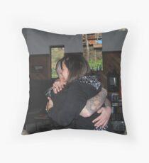 The Hug Throw Pillow