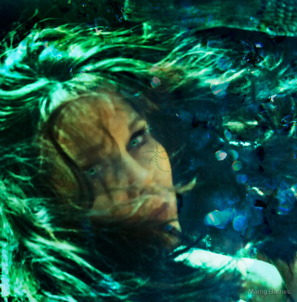 Mermaid Dreams - redo by Marny Barnes
