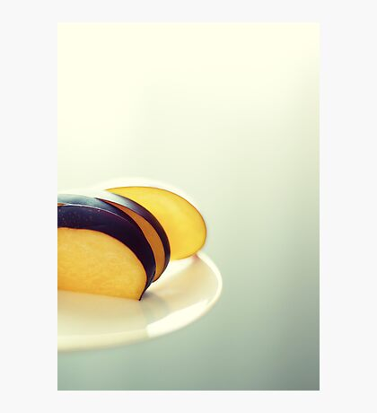 Sunny Plums Photographic Print