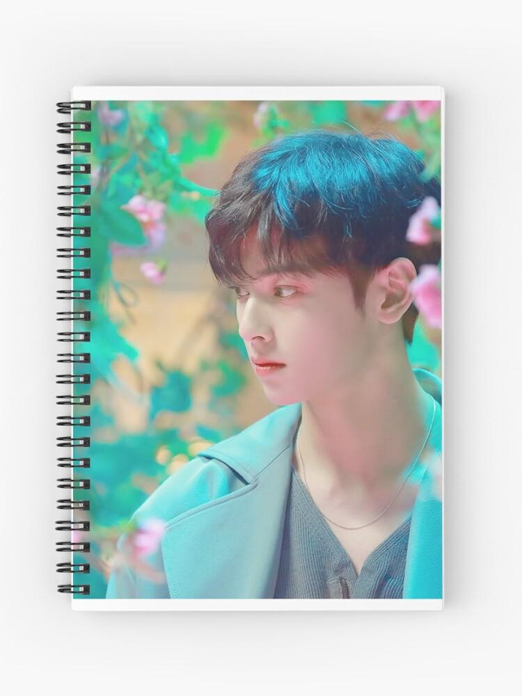 Cha Eunwoo - Astro - All Night   Spiral Notebook