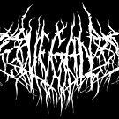Vegan Black Metal Logo! by Occultix