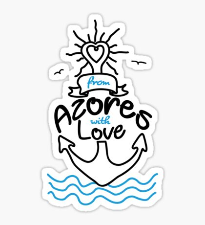 Anker Azores with love Sticker