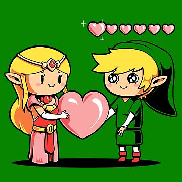 Fill my hearts zelda link ocarina heart container by pierceistruth