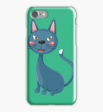 Cunning cute cat iPhone Case/Skin