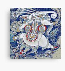 Flying Elephant Canvas Print